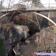 磊々峡の覗橋