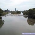 愛宕橋から見た愛宕堰
