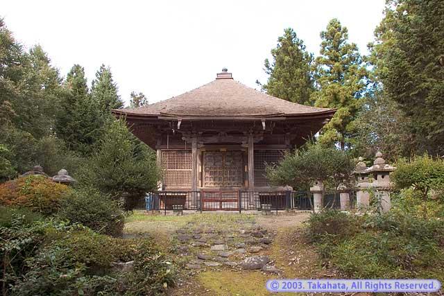 覚乗寺高台院霊屋(天山公廟)