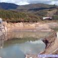 工事中の皆瀬ダム