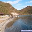 日本一の酸性湖・潟沼