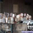 気仙沼のバス停が仙台に