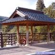 三途川橋の東屋
