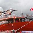 南極観測船砕氷艦「しらせ」