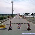 閉鎖中の橋
