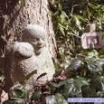 野草園の石像
