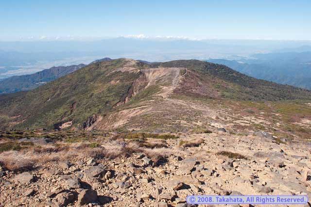 熊野岳からの眺め
